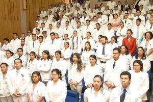 Clausura del internado Hospital Hidalgo